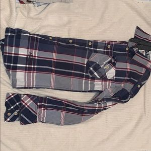 Petrol Industries (Buckle) button up plaid shirt